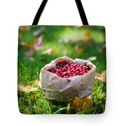 Bunch Of Cranberries Tote Bag