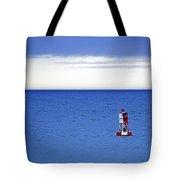 Buoy Off Bass Harbor Head Tote Bag