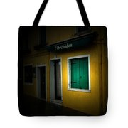 Burano Flower Shop Tote Bag