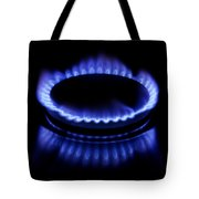 Burning Gas Tote Bag by Fabrizio Troiani