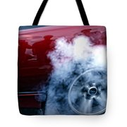 Burnout Tote Bag