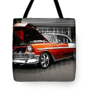 Burnt Orange Chevy Abstract Tote Bag