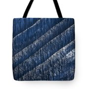 Burnt Trees On Mountain Slope Tote Bag by Mike Grandmailson