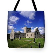 Burrishoole Friary, Co Mayo, Ireland Tote Bag by The Irish Image Collection