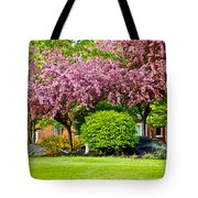 Bursting Blossoms Tote Bag