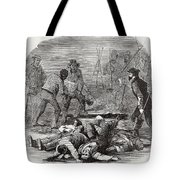 Burying The Dead After John Browns Tote Bag