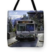 Bus To East Vail - Colorado Tote Bag
