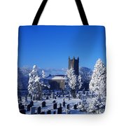 Bushmills Church, County Antrim Tote Bag