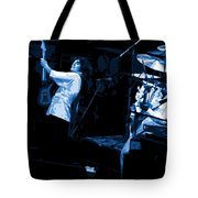 Bustin Out For Blue Winterland Tote Bag