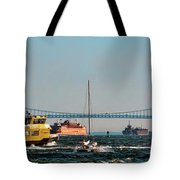 Busy Waters Tote Bag