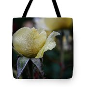 Buttercream Petals Tote Bag