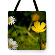 Buttercup In Riverside Park Tote Bag
