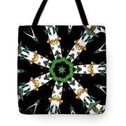 Butterflies Mania Kaleidoscope Tote Bag