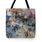Butterfly And Dragonfly Paintings Tote Bag