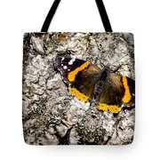 Butterfly Bark Tote Bag