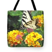 Butterfly Dining Bdwc Tote Bag