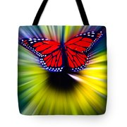 Butterfly Fly Tote Bag