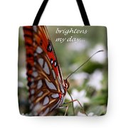 Butterfly Friendship Card Tote Bag