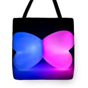 Butterfly Glowing Shape Tote Bag