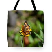 Butterfly Gold Tote Bag