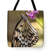 Butterfly On A Stem Tote Bag