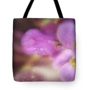 Butterfly Pea Wildflowers Tote Bag