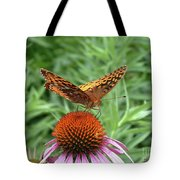 Butterfly Pitstop Tote Bag