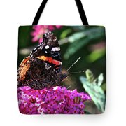 Butterfly Plant At Work Tote Bag