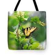 Butterfly Tiger Swallow Tote Bag