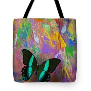 Butterfly Wall Tote Bag