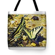 Butterlies At The Beach Tote Bag