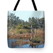 Buxton Salt Marsh - Outer Banks Nc Tote Bag