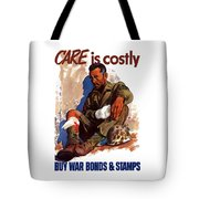 Buy War Bonds And Stamps Tote Bag