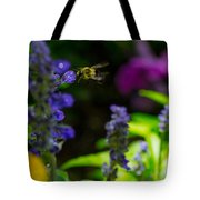 Buzzing Around Tote Bag
