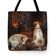 By The Hearth Tote Bag