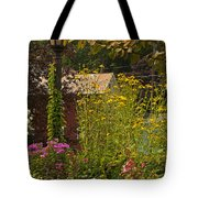 By The Light Of The Garden Tote Bag