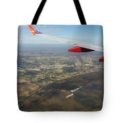 By Water  By Air Tote Bag