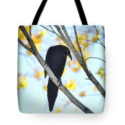 Bye Bye Blackbird  Tote Bag