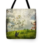 Bye For Now Tote Bag