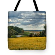 Bypass The Country Fields Tote Bag