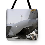 C-17s Deliver, Pick-up Cargo Tote Bag