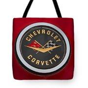 C1 Corvette Emblem Tote Bag