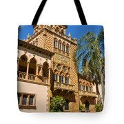 Ca D Zan  Winter Home Of John And Mable Ringling Tote Bag