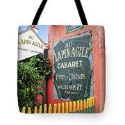Cabaret Sign Tote Bag