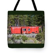 Cabin Car Tote Bag
