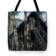 Cabin Get Away Tote Bag