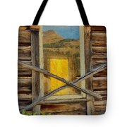 Cabin Windows Tote Bag