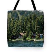 Cabins On The Lake Tahoe Tote Bag