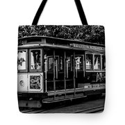Cable Car Tote Bag