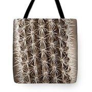 Cactus 19 Sepia Tote Bag